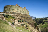 Ingapirca, Inca wall and town in Ecuador — Stock Photo