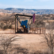 Oil Pump in the Desert, Mancora, Peru — Stock Photo