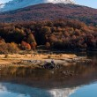 Autumn in Patagonia. Cordillera Darwin, Tierra del Fuego — Stock Photo