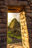 Machu Picchu, Peruvian Andes, Sacred Valley — Stock Photo