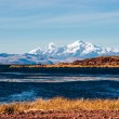 Lake Titicaca from the bolivian side — Stock Photo