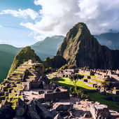 Machu Picchu, Andes, Sacred Valley, Peru — Stock Photo