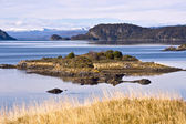 End of the Fireland, Tierra del Fuego. Lapataia Bay in Tierra de — Stock fotografie