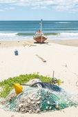 Punta del Diablo Beach, Uruguay — Photo