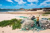 Punta del diablo pláž, uruguay pobřeží — Stock fotografie