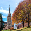 Stock Photo: Cathedral of city of Bariloche, Argentina