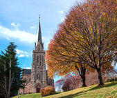 Cathedral of the city of Bariloche, Argentina — Stock Photo