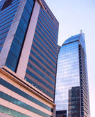 Modern buildings in new Montevideo — Stock Photo