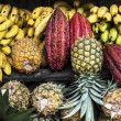 Stock Photo: Latin AmericFruit street market, Ecuador
