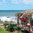 Stock Photo: Typical restaurant on coast of Uruguay. Rocha, Puntdel Dia