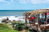 Typical restaurant on the coast of Uruguay. Rocha, Punta del Dia — Foto Stock