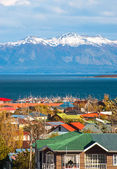 Strait Of Magellan, Puerto Natales, Patagonia, Chile — Stock Photo