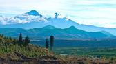 Ilinizas, Andes. Ecuador.  Ilinizas Nature Reserve. Los Ilinizas — Stock Photo