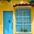 Typical Colonial house in the Old City of Cartagena, Colombia — Stock Photo #46058851