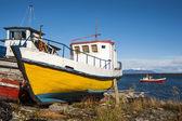 Strait Of Magellan, Puerto Natales, Patagonia, Chile — Stock Photo