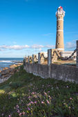 Lighthouse in Jose Ignacio near Punta del Este, Uruguay — Foto Stock