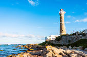 Lighthouse in Jose Ignacio near Punta del Este, Uruguay — Stock Photo