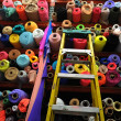 Fabric textile rolls — Stock Photo #48747703
