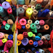 Fabric textile rolls — Stock Photo #48747707