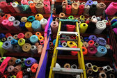 Fabric textile rolls — Stock Photo