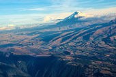 Cotopaxi Volcano, Andean Highlands of Ecuador — Stock Photo