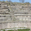 Turkey ancient city of Troy Theatre - Stock Photo