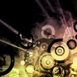 Music Inspired DJ Abstract Background — Stockfoto