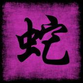 φίδι κινεζικής zodiac — Φωτογραφία Αρχείου