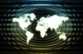 Red global de la industria de las telecomunicaciones — Foto de Stock