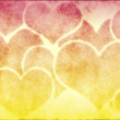 Royalty-Free Stock Photo: Hearts Background