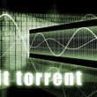 Stock Photo: Bit Torrent