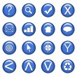 Web Icons Set — 图库照片