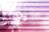 Purple Data Network Internet — Stock Photo