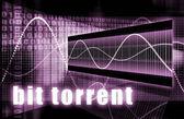 Bit Torrent — Stock Photo