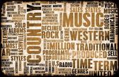 Country Music — Stock Photo