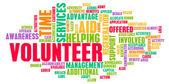 Volunteer — Stock Photo