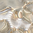 Liquid Metal Background - Stock Photo