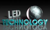 Led 的技术 — 图库照片