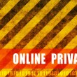 Royalty-Free Stock Photo: Online Privacy