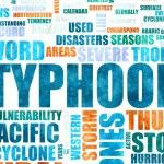 Typhoon — Stock Photo