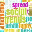 Social Trends - Stock Photo