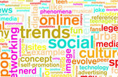 Social Trends — Stock Photo