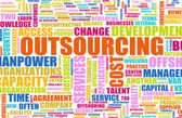 Outsourcing — Stock Photo