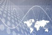 Abstrato de negócios globais — Foto Stock