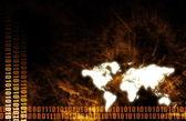 Sfondo astratto business globale — Foto Stock