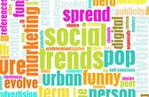 Social Trends — Stock Photo
