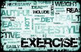 Exercise — Foto Stock