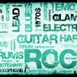 Stock Photo: Rock Music