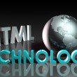 HTML Technology - Foto Stock