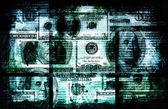 Dirty Money — Stock Photo